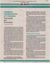 Chemical Conditioning of Forages, Techni... by C. A. Rotz