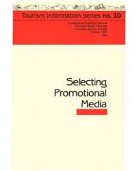 Selecting Promotinal Media, Document E20... by Maureen H. McDonough
