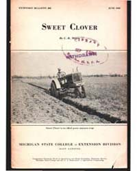 Sweet Clover, Document E202 by Megee, C. R.