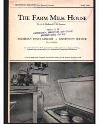 The Farm Milk House, Document E206Print2 by Bell, A. J.
