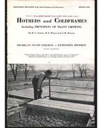 Hotbeds and Coldframes, Document E20Rev3 by Senton, H. L