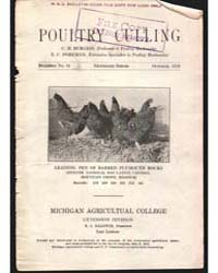 Poultry Culling, Document E21 by Burgess, C. H.
