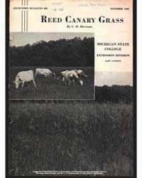 Reed Canary Grass, Document E220 by Harrison, C. M.