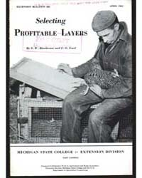 Selecting Profit Able Layers, Document E... by Henderson, E. W.