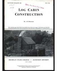 Log Cabin, Document E222 by Bowman, A.B.