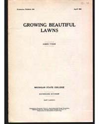 Growing Beautiful, Document E224 by Tyson, James