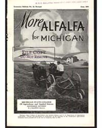 More Alfalfa for Michigan, Document E23R... by Decker, R. E.