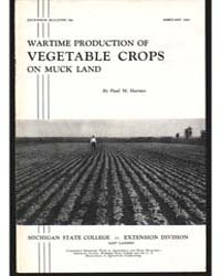 Wartime Production of Vegetable Crops on... by Paul M. Harmer