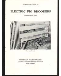 Electric Pig Brooders, Document E250Prin... by Richard L. Witz