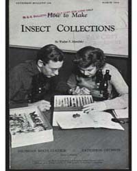 How to Make Insect Collections, Document... by Walter F. Morofsky