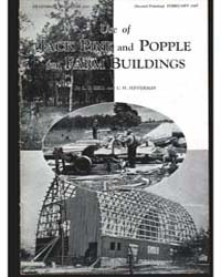 Use of Jake Pine and Popple for Farm Bui... by L. E. Bell