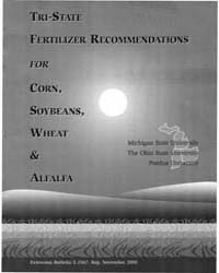 Tri-state Fertilizer Recommendations for... by M. L. Vitosh