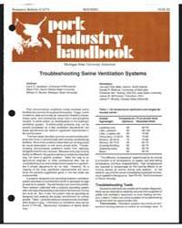 Housing, Pork Industry Handbook, Documen... by Larry D. Jacobson