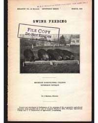 Swine Feeding, Document E26 by Baldwin, R. J.