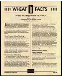 Wheat Facts, Weed Management in Wheat, D... by James J. Kells