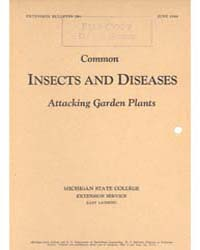 Common Insects and Diseases Attacking Ga... by Michigan State University