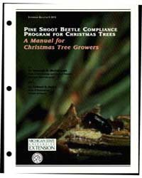 Pine Shoot Beetle Compliance Program for... by Deborah G. McCllough