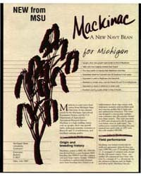 MacKinac, a New Havy Bean for Michigan, ... by Michigan State University