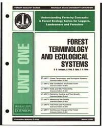 Forest Terminology and Ecological System... by D. O. Lantagne