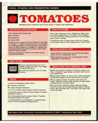 Tomatoes, Michigan-grown Tomatoes Are Th... by Michigan State University