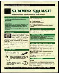 Summer Squash, Michigan-grown Summer Squ... by Michigan State University