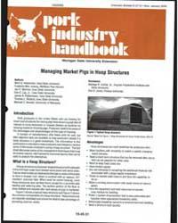 Pork Industry Handbook, Document E2713 by Mark S. Honeyman