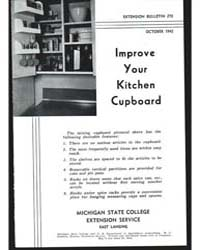 Improve Your Kitchen Cupboard, Document ... by Michigan State University