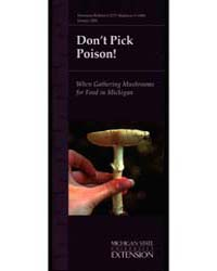 Don'T Pick Poison!, Document E2777 by Michigan State University