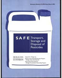 Safe, Transport, Storage Anddisposal of ... by Rebecca Hines
