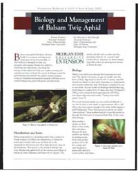 Biology and Management of Balsam Twig Ap... by Kirsten Fondren