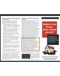 Molda in the Home : What Should You Do?,... by Michigan State University