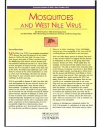 Mosquitoes and West Nile Virus, Document... by Mike Kaufman