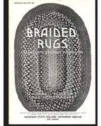 Braided Rugs, Document E285Print3 by Charlotte Brenan Robinson