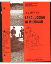 A Guide for Land Judging in Michigan, Do... by R. G. Hill