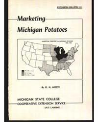 Marketing Michigan Potatoes, Document E3... by G. N. Motts