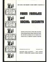 Farm Families and Social Security, Docum... by Everett E. Peterson