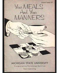 Your Meals and Your Manners, Document E3... by Roberta Hershey