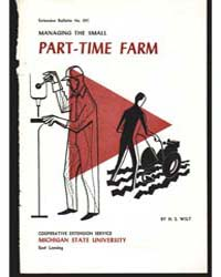 Managing the Small Part-time Farm, Docum... by H. S. Wilt