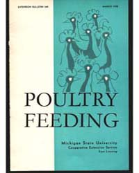 Poultry Feeding, Document E345 by Philip J. Schaible