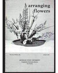 Arranging Flower, Document E346 by Michigan State University