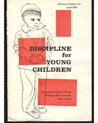 Discipline for Young Children, Document ... by Lennah K. Backus