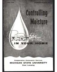 Controlling Moisture in Your Home, Docum... by Cargill, B. F.