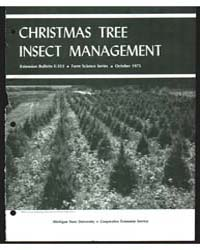 Christmas Tree Insect Management, Docume... by William E. Wallner