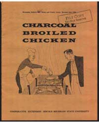 Charcoal Broiled Chicken, Document E355R... by C. C. Shappard
