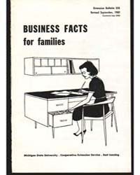 Business Facts for Families, Document E3... by Lucile Ketchum
