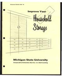 Improve Your Household Storage, Bulletin... by Eunice A. Patdee