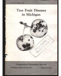 Tree Fruit Diseases in Michigan, Bulleti... by Michigan State University