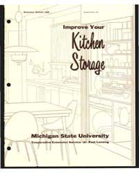 Imrove Your Kitchen Storage, Bulletin 36... by Eunice Pardee