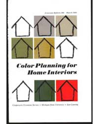 Color Planning for Home Interiors, Bulle... by Michigan State University