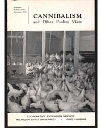 Cannubalism and Other Poultry Vices, Bul... by Michigan State University